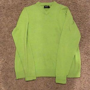 EUC Ashworth Clubhouse Marino Wool Gold Sweater